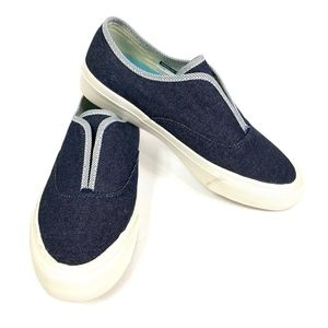 SeaVees Casual Slip-On Cotton Sunset Strip Sneaker